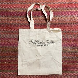 REUSABLE CALIFORNIA ROOTS MUSIC FESTIVAL TOTE